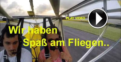 Spass am fliegen